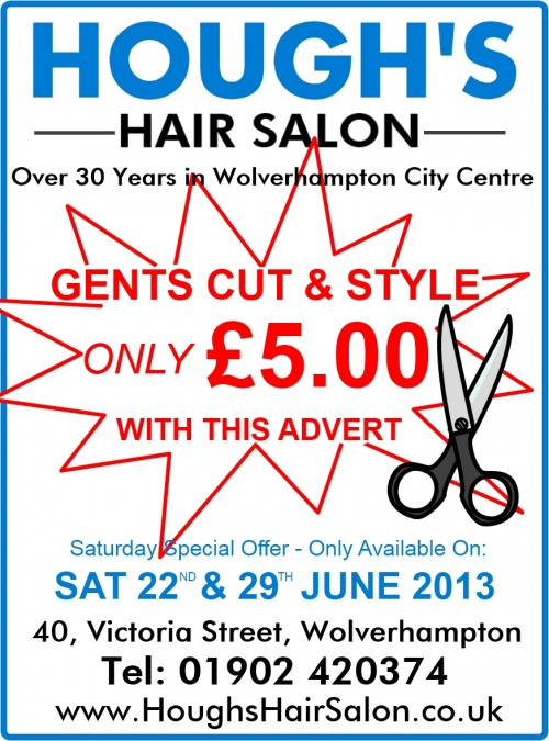 Gents Hair Salon Wolverhampton