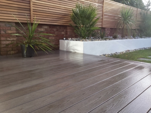 Modern garden design East London