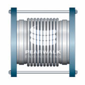 Single Tied Metallic Expansion Joint