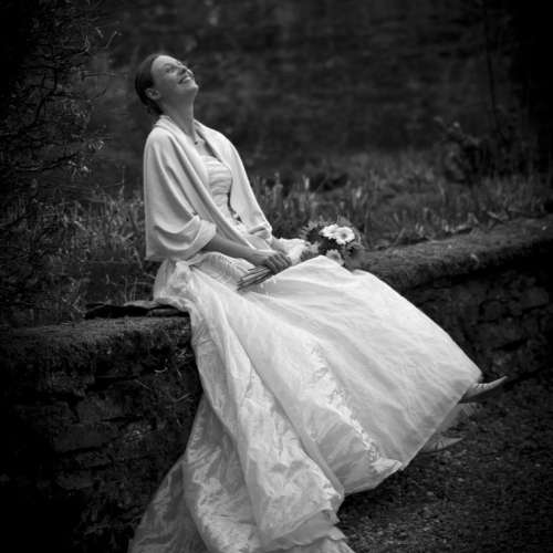 Beautiful bride at Ardverikie Estate, Glenbogle