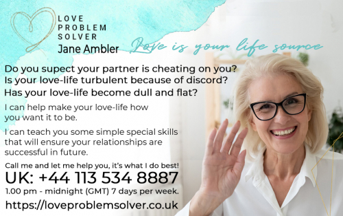 I can help you if you suspect your love partner is cheating on you.