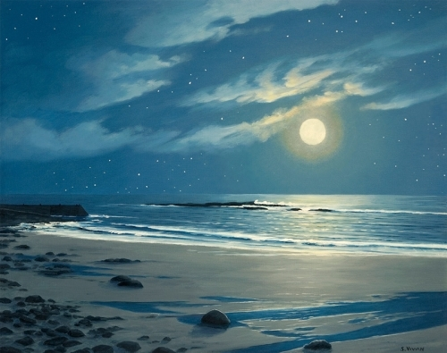 Stars Falling Into A Silver Sea Sennen West Penwith