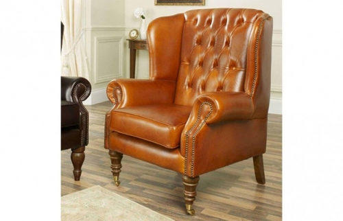 Regency Flat Wing Chair