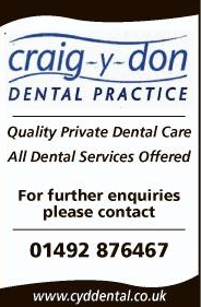 Craig y don Dental Practice Llandudno North Wales