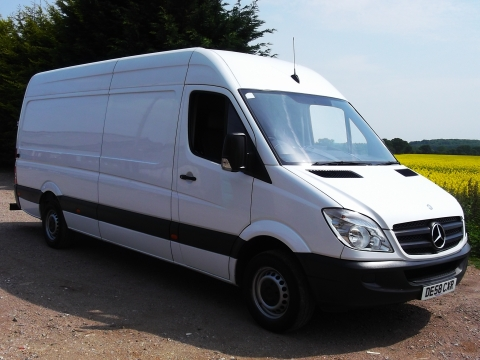 2009/59 Mercedes-Benz Sprinter 311CDi LWB H/R Panel vans