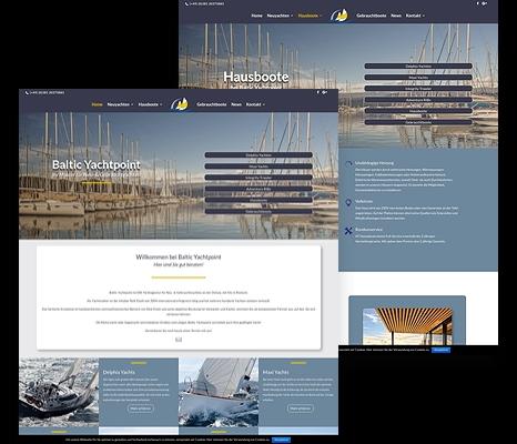 Boat Broker Website with E-Commerce