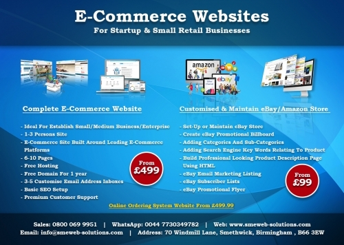 Ecommerce Websites Offers