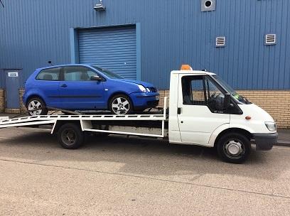 scrap car removed form kingston