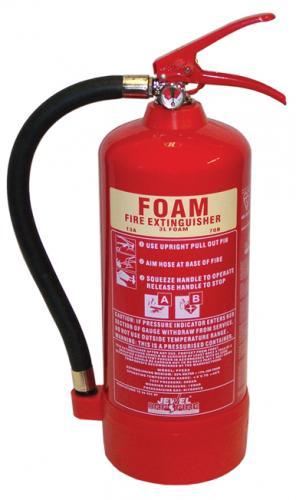 Jewel Foam Fire Extinguishers