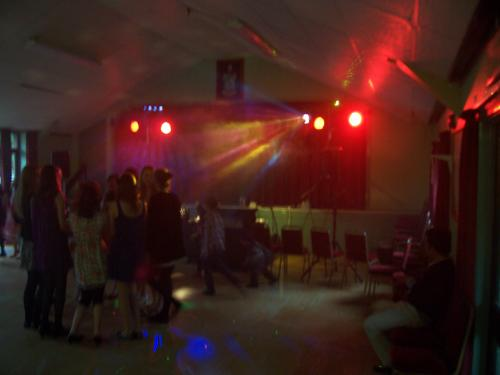 Teenager's party Disco at North Baddesley