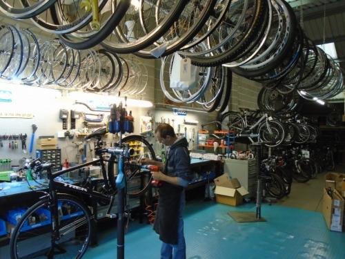 Bigpeaks Bike Shop and watersports store servicing