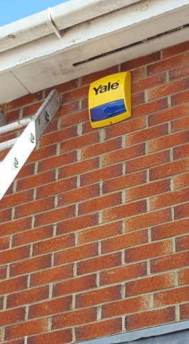 Yale fully fitted alarm systems Stockton-on-Tees