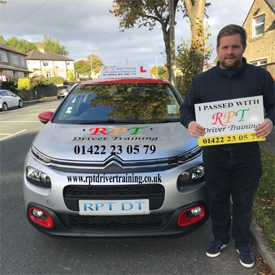RPT Driver Training- Driving lessons Halifax - Nathan Raynor