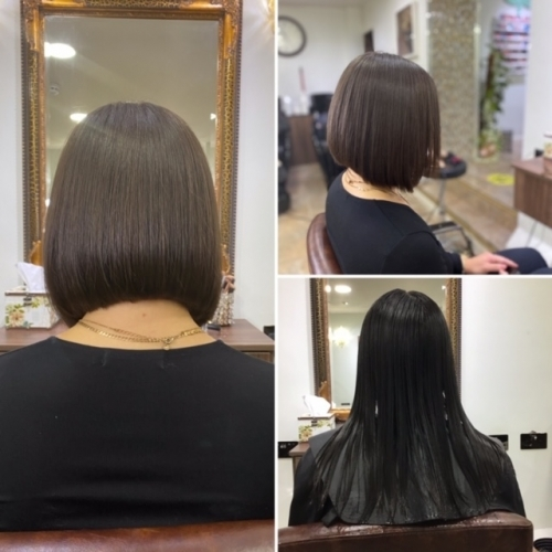 Tiara Organic Hair & Beauty Haircut