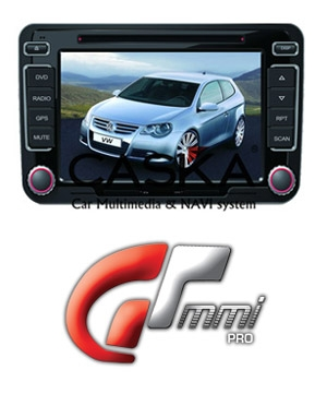 GTMMI, DVD Sat Nav GPS For VW Golf 5 & 6, Passat, Jetta and Caddy
