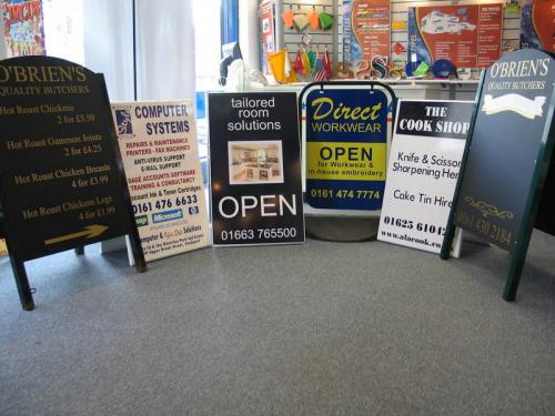 We stock a wide variety of Pavement signs