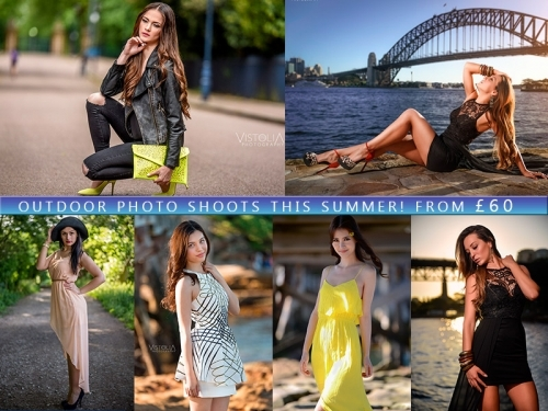 Outdoor Photo Shoots in London - Fashion and Portraits