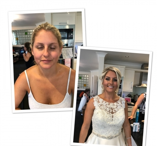 Bridal Makeup - Before and After