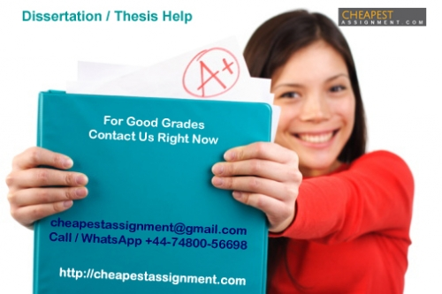 Dissertation Writing Services, UK