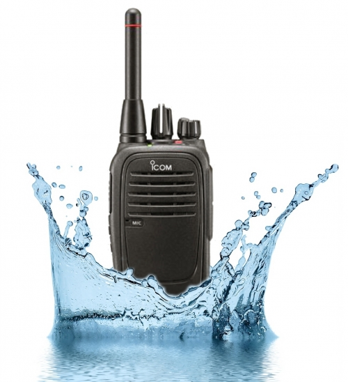 ICOM IC-F29SR LICENSE FREE WATERPROOF HANDHELD RADIO