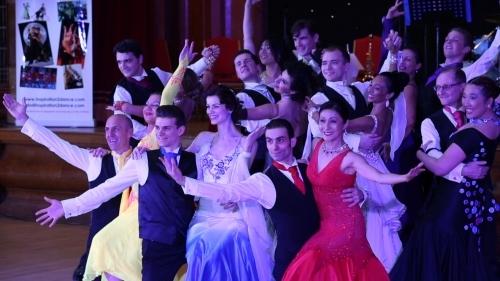 Inspiration 2 Dance performance group at The London Gala Ball 2015