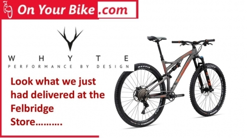 Full range of Whyte Full Suspension Bikes - new 2017 Models now in