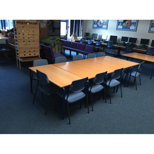 Cleaned Classroom by Lawrence Cleaning