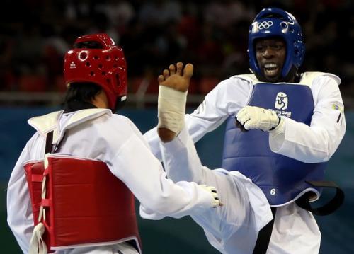 Taekwondo is a dynamic Olympic Sport.