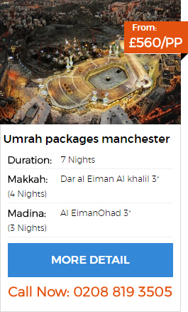 Umrah packages Manchester