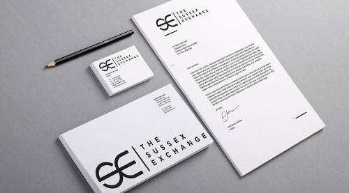 Sussex Exchange UK Logo Design