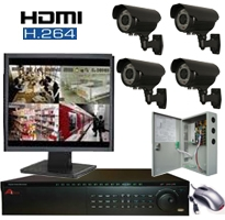 CCTV system for home or business
