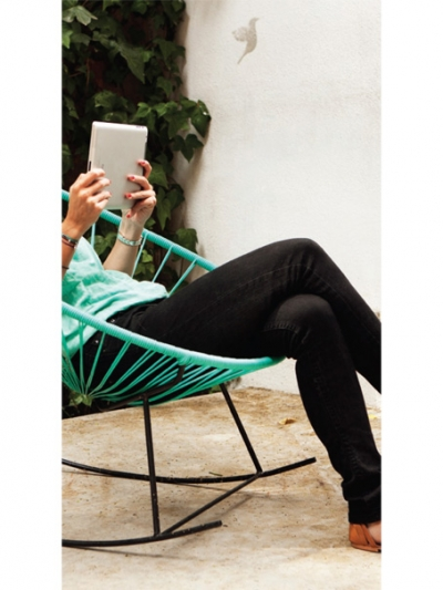 Acapulco Rocking Chair in green