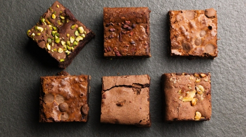 The Brownie Box Set- The Organic, Fair Trade Chocolate Luxury Brownie Selection.