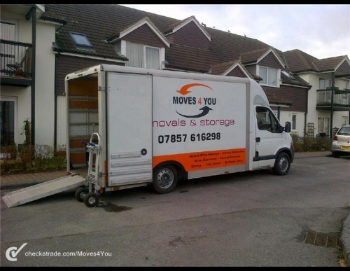 Fully equipped Lo Loader Luton van with ramp