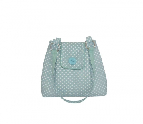 Linen Spot Ava Bag Powder Blue