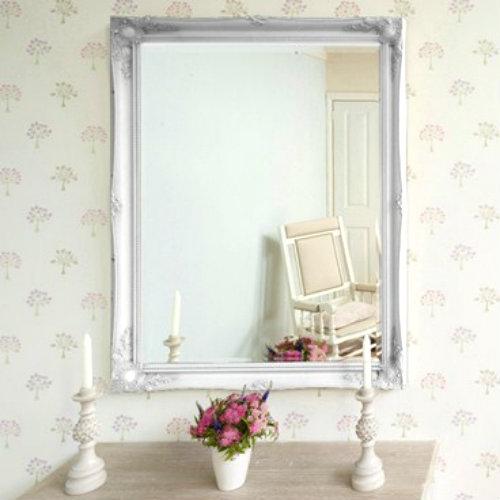 Fine White Mirror