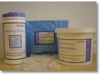Patient Wet Wipes and Dry Wipes