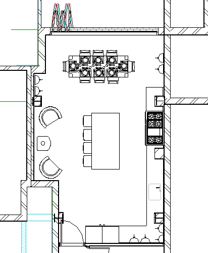 Residential Extension Revit Plan