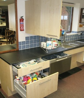 Custom-Made Saint Roch Accessible Kitchens from Softley Kitchens in Northampton