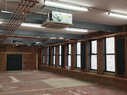 40kW GSHP at Commercial Office Space with Free Cooling