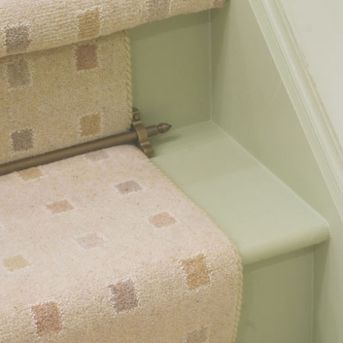 Premier Chatsworth brass stair rod from Carpetrunners.Co.Uk