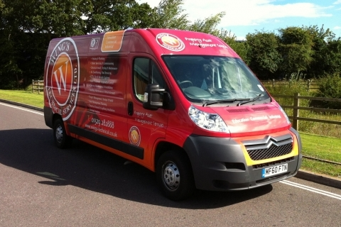 Vehicle Wraps and Graphics - A full digital wrap