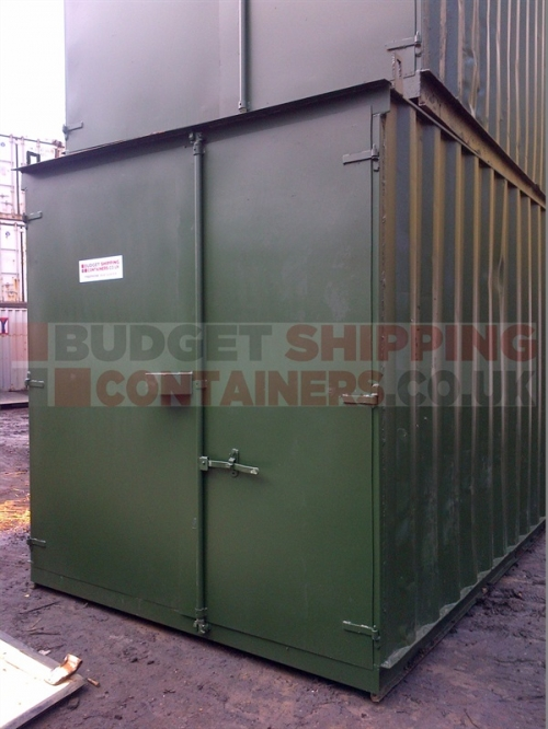 8ft and 10ft Refurbished Shipping Containers