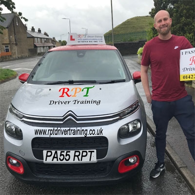 PRT Driver Training Driving Lessons Halifax Jason Chapman