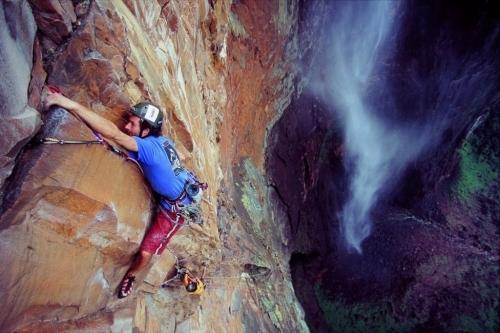Inspirational Guest Speaker and Adventurer Ben Heason at Angel Falls