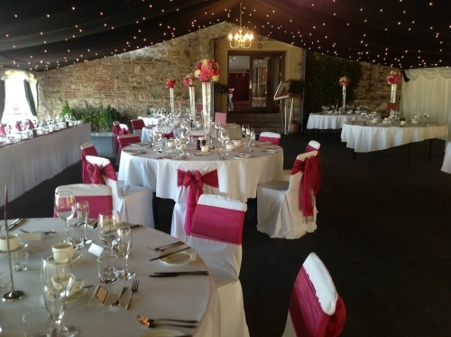 Wedding Marquee, South Queensferry