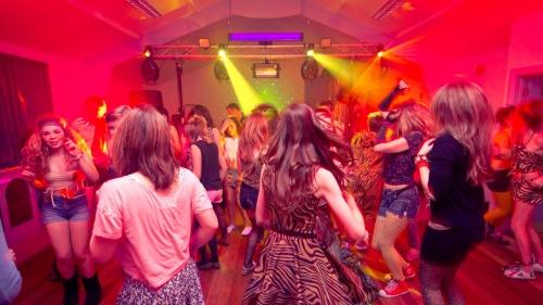 Teenagers disco