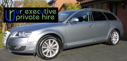 Chauffeur driven car hire