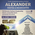 Alexander Roofing & Roughcasting