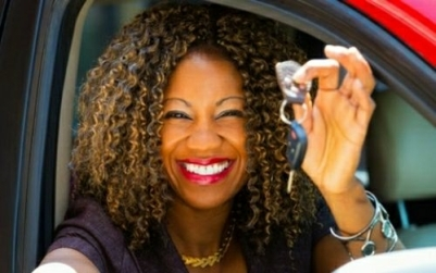 Car Lady Driver
